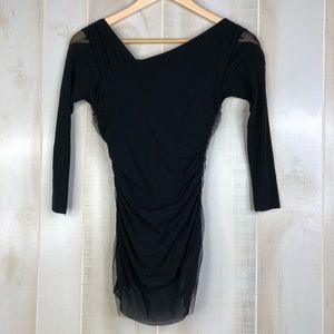 Anthropologie Tops - Anthropologie Weston Wear Tulle 3/4 Top Size XS